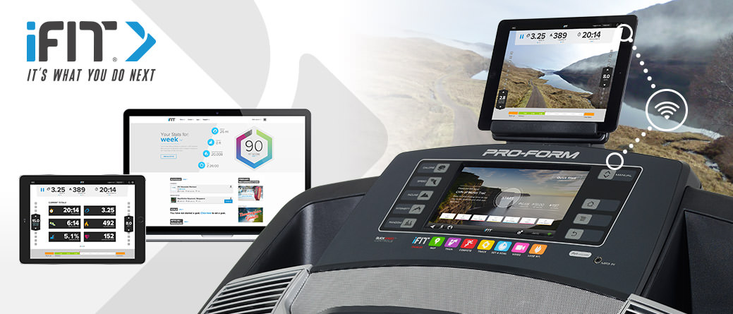 proform pro 9000 Treadmill with ifit live