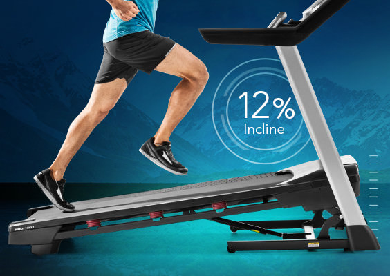 proform 1000 treadmill with ifit live