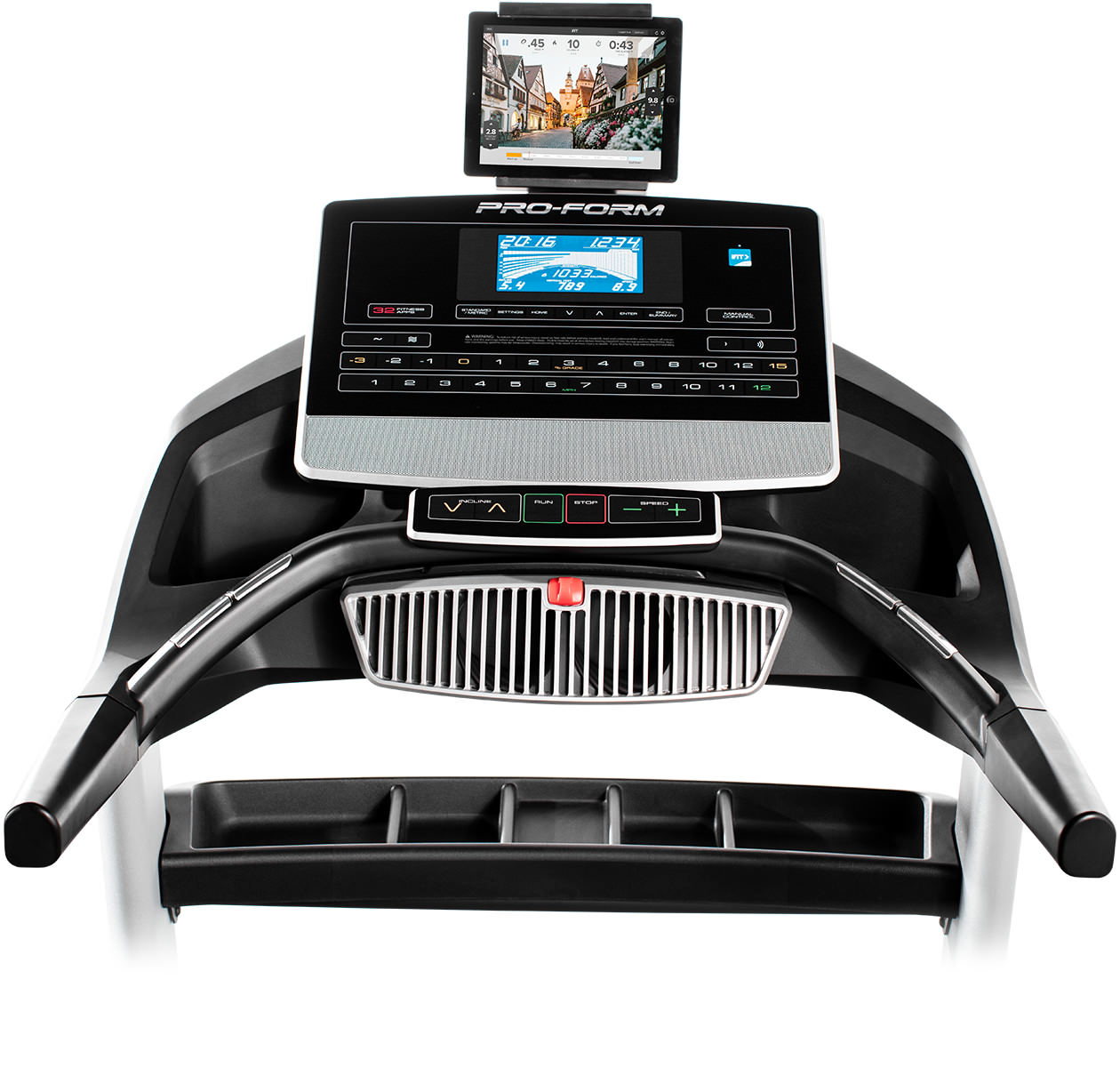 Proform Pro 5000 Review 2016: Proform-2000-treadmill-console-2017