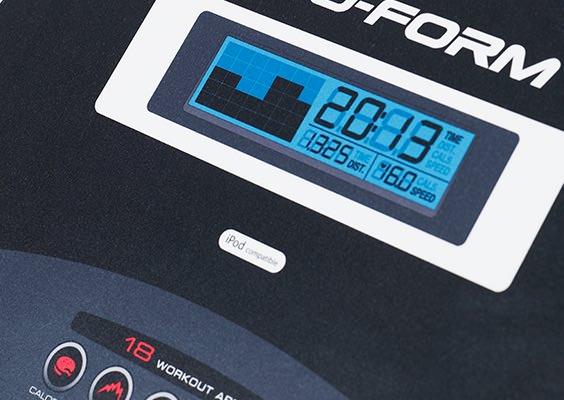 proform 505 cst treadmill console
