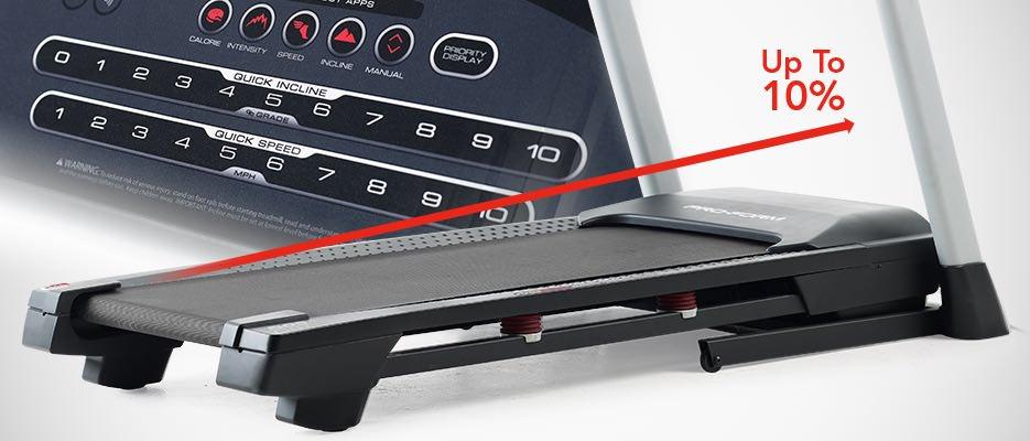 proform 505 or 995 treadmill